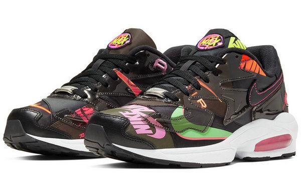 atmos x Nike 联名 Air Max2 Light 鞋款黑色版本首次曝光