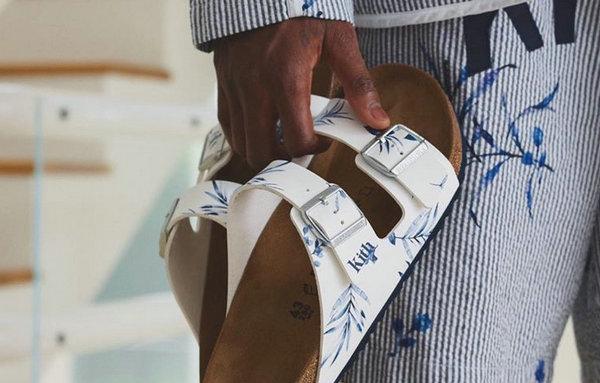 大表哥亲晒!KITH 全新品牌主题凉鞋曝光,独特夏日风格!