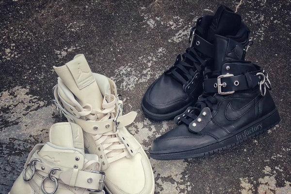 川久保玲 CDG x Air Jordan 1 全新联名鞋款1.jpg