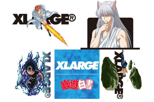 XLARGE x 日漫《幽游白书》全新联名系列.jpg