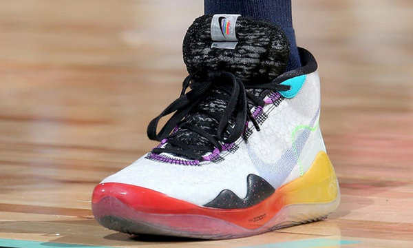 KD12 全新 BETURE 系列配色鞋款首度曝光于 WNBA 女篮比赛中