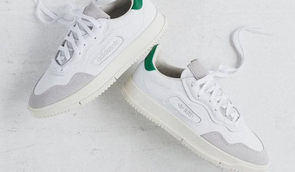 KITH x adidas Originals SC Premiere联名鞋款,清新配色超吸睛~
