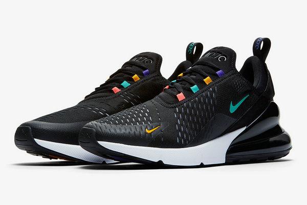 Nike Air Max 270鞋款全新五彩配色释出,细节满满~