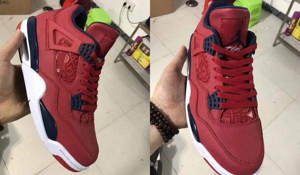 "Air Jordan 4 ""FIBA"" 篮球世界杯配色鞋款首次曝光"