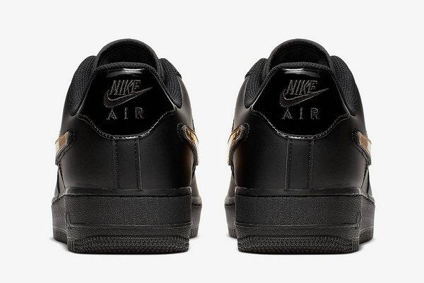 Nike Air Force 1鞋款全新黑金配色即将登场,依旧经