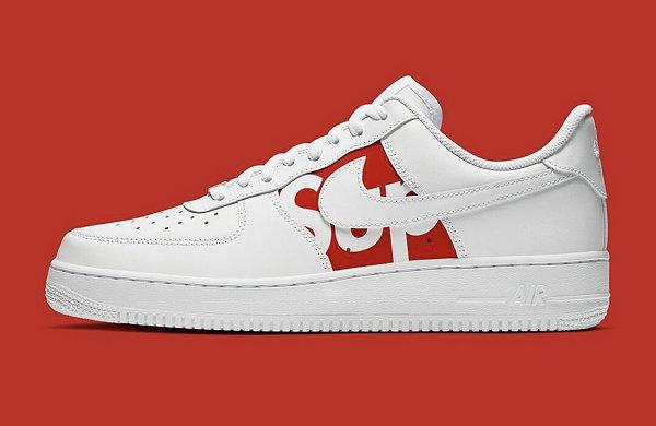 美潮 Supreme x Air Force 1 联名鞋款曝光,预计 2020 春季正式登场