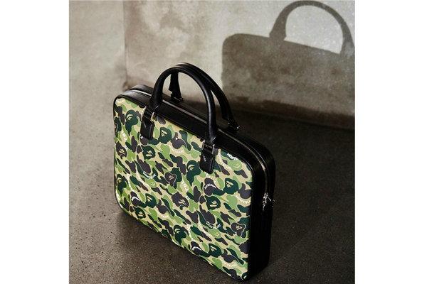 Bape x Montblanc 全新联名奢华皮具系列释出,街头风格设计