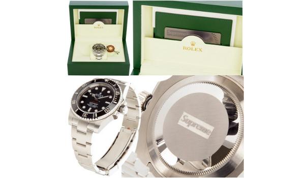 Supreme x 劳力士非官方合作亲友限定水鬼手表,全球仅有 20 块