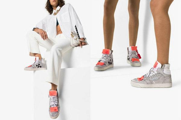 "美潮 OFF-WHITE 全新 Off-Court 3.0 鞋款上架发售,闪""瞎""眼"