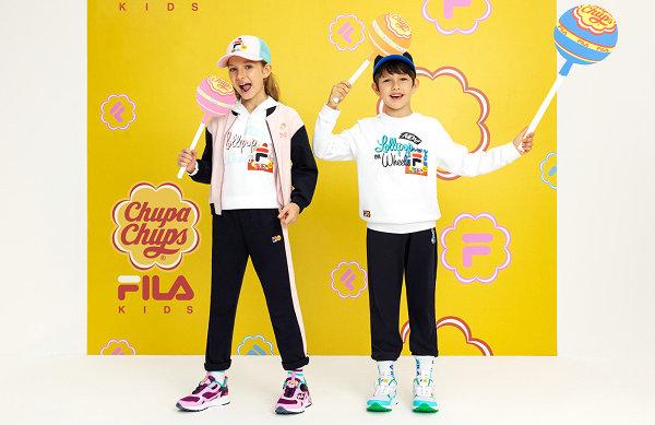 FILA KIDS x 珍宝珠联名 Luminance 鞋款及服饰系列即将上市