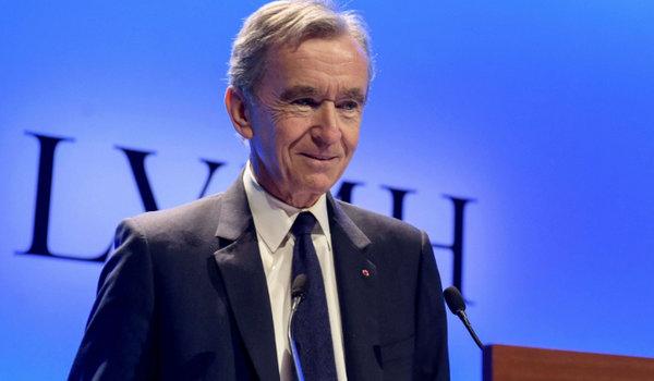 LVMH 主席 Bernard Arnault 成为世界第二富豪,仅次于亚马逊 CEO