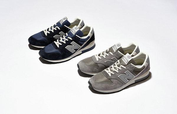 新百伦 996 鞋款海军蓝、灰及鸳鸯配色系列发售在即