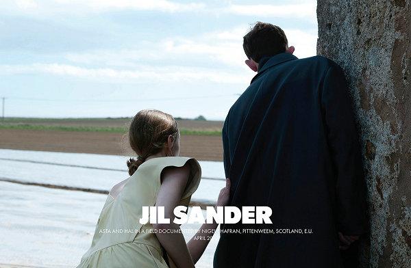 JIL SANDER 2019 秋冬系列广告大片出炉,苏格兰旅行游记