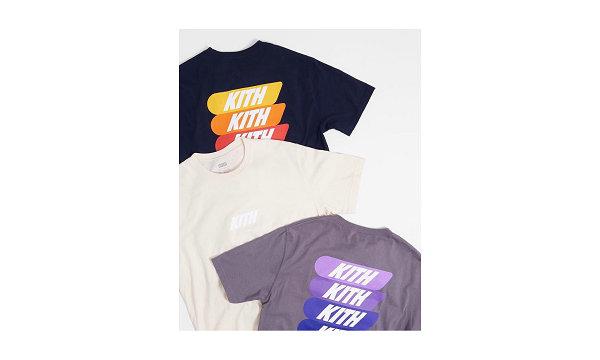 美潮 KITH Monday Program 四色渐变 LOGO T恤系列即将登场