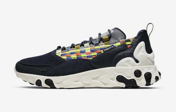 "Nike React Sertu ""Multi"" 跑鞋即将发售?彩虹编织"