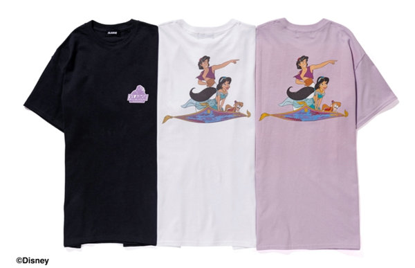 美潮 XLARGE x Disney 联名阿拉丁 T-Shirt 系列即将登场