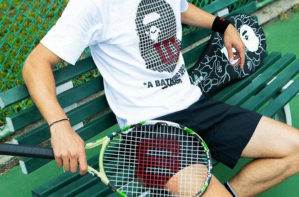 日潮 BAPE x Wilson 2019 联乘系列正式公布,猿人网球装备