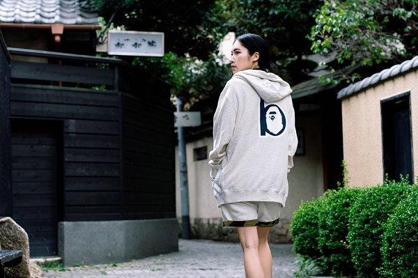 """日潮 BAPE 2019""""b""""系列女装单品释出,猿人头与字母 b 融合"""