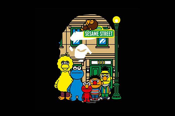 BAPE x 芝麻街 2019 联乘企划曝光,猿人做客 Sesame Street