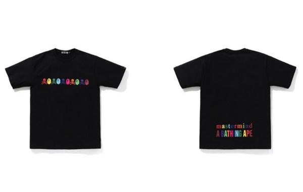 BAPE x mastermind JAPAN 全新联名 T 恤系列正式发售~