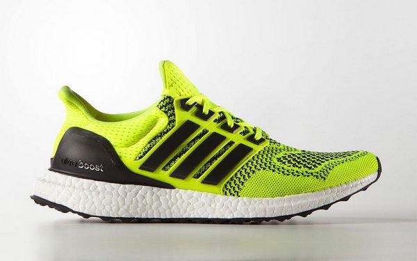 Ultra Boost 1.0 鞋款橙红、黑黄两款荧光配色发售详情公布