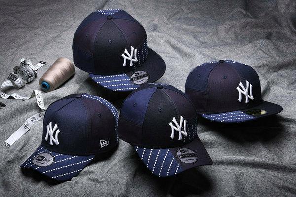 New Era(纽亦华)全新「BORO」系列帽款上架发售,传统工艺再现