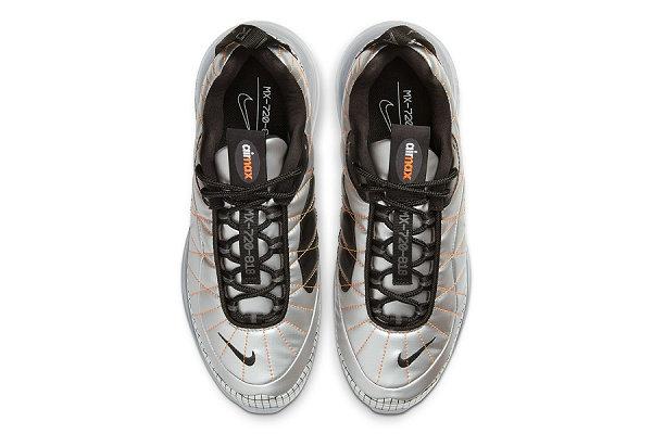 Air MX 720-818 鞋款银色及棕色版本一同亮相,宇航服既视感