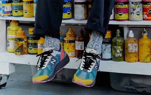 Size? x New Balance 再度联乘全新复古 878 鞋款,酷炫登场!