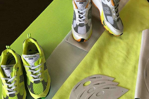 新百伦 x Aries 2019 联乘 991 鞋款系列释出,两色可选