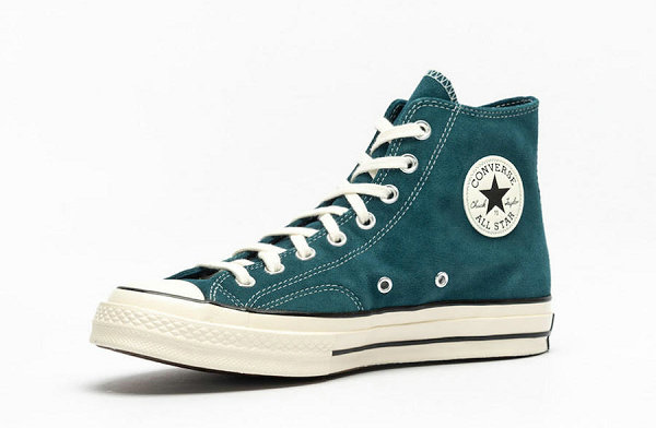 "匡威 Chuck 70s 绿松石""Midnight Turquoise""配色鞋款发售"
