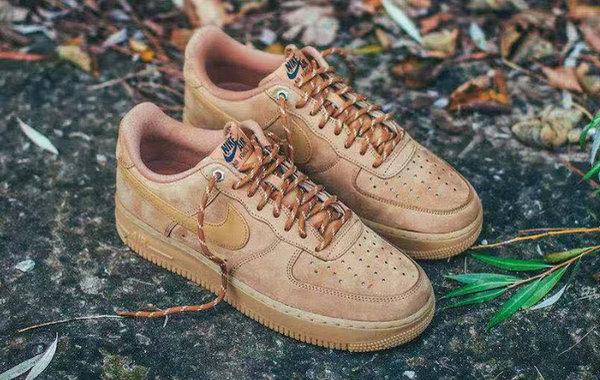 Nike Air Force 1 全新小麦配色鞋款发售,极具工装气息