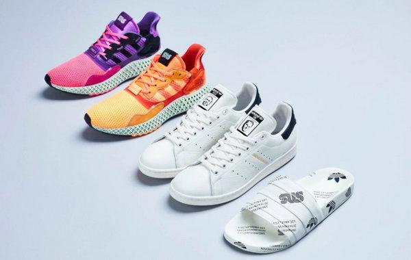 Sneakersnstuff x adidas Consortium 联名鞋款系列即将开售,周年限定