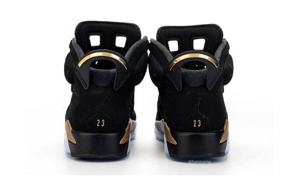 "Air Jordan 6""DMP""黑金配色主题球鞋.jpg"