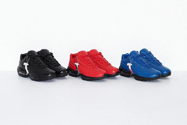 Supreme x 耐克联名 Air Max 95 Lux 鞋款系列发售详情公布