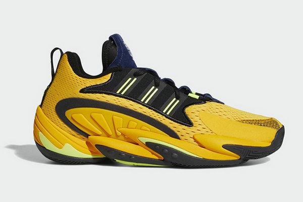 阿迪达斯 Crazy BYW X 2.0 鞋款全新黑黄配色释出~