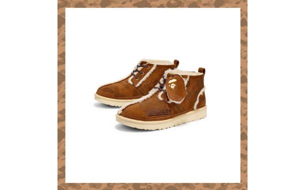 UGG x Bape 联乘系列第二弹单品即将发售,加入更多鞋款