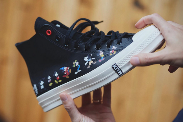 匡威 x 迪士尼 x KITH 全新三方重磅联名鞋款释出,超高辨识度