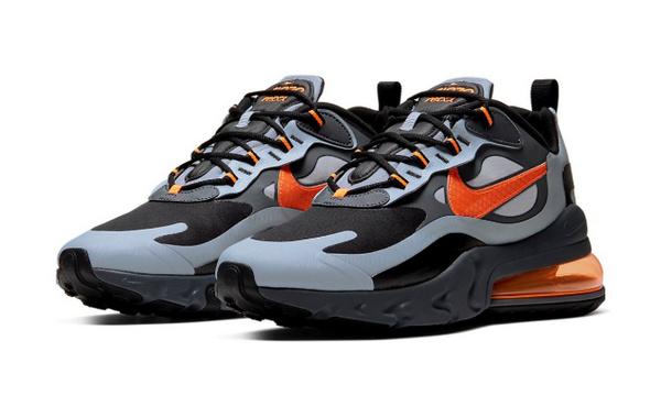NIKE Air Max 270 React 全新配色鞋款正式发售,冬季专属