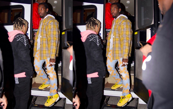 "Travis Scott x Air Jordan 6 全新""Yellow""配色鞋款释出"