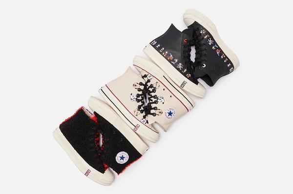 KITH x 匡威 x 迪士尼 2019 联名 Chuck Taylor 1970s 鞋款系列公布
