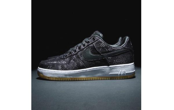 CLOT 黑丝绸来了!CLOT x fragment design x Nike AF1 联名鞋款发售