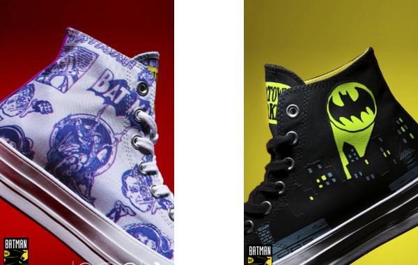 蝙蝠侠 x Chinatown Market x 匡威三方联名 Chuck 70 鞋款上架