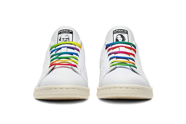 阿迪达斯 x Stella McCartney 联名彩虹色 Stan Smith 鞋款亮相