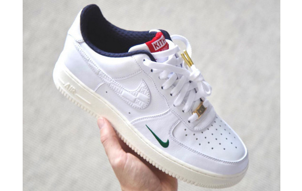 KITH x Nike Air Force 1 联名鞋款曝光,Ronnie Fieg 亲晒~