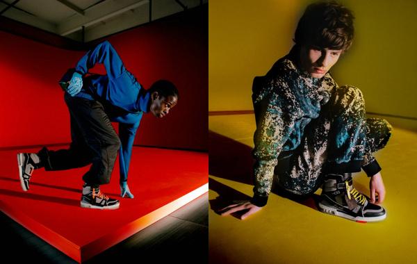 Louis Vuitton 全新限量版 LV Trainer 鞋款下月发售~