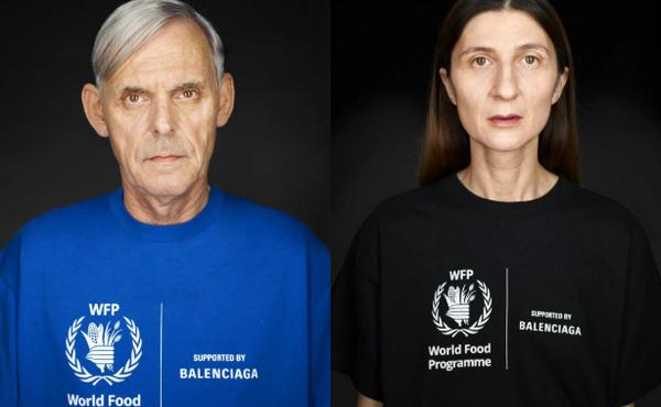 巴黎世家为 WFP 推出全新系列单品,继续支持世界粮食计划署