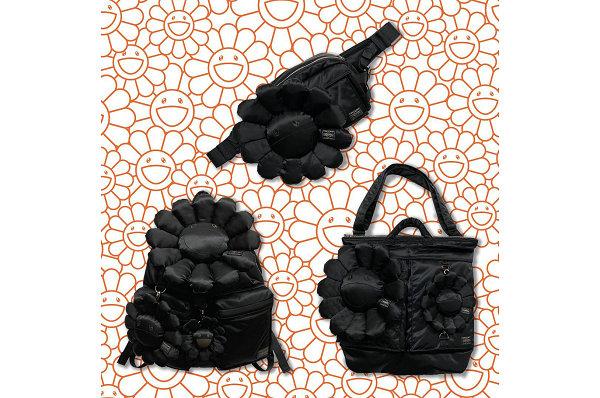 PORTER x 村上隆联名黑色主题包袋系列.jpg