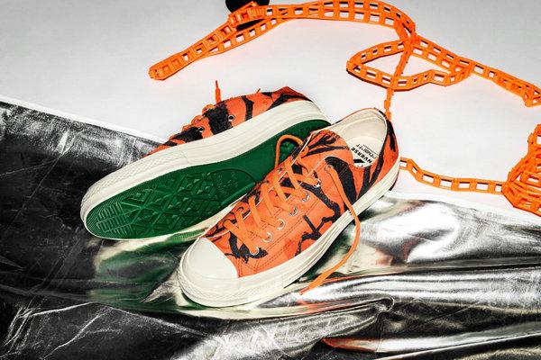 匡威 x Carhartt WIP 全新联名 Chuck 70 鞋款上架发售