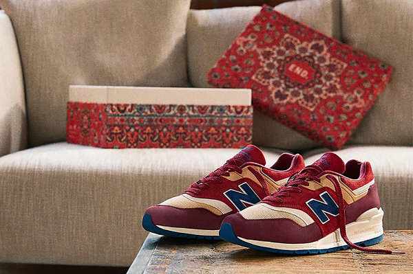 """END. x 新百伦联名""""波斯地毯""""配色 997 鞋款出炉"""