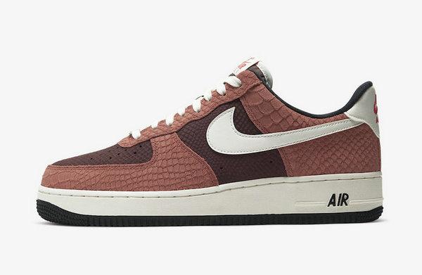 AF1 鞋款全新焦糖色蛇纹配色曝光,颜值爆表